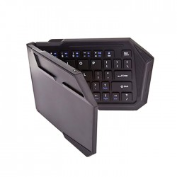 OptimuZ Keyboard Lipat / Folding Bluetooth BK-03S - Hitam