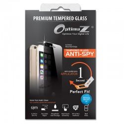 OptimuZ Tempered Glass Anti Spy with Applicator - Samsung A3