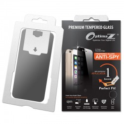 OptimuZ Tempered Glass Anti Spy with Applicator - Samsung S5