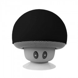 Speaker Bluetooth Mini Jamur - Black