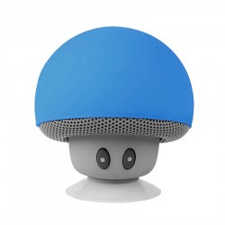 Speaker Bluetooth Mini Jamur - Blue