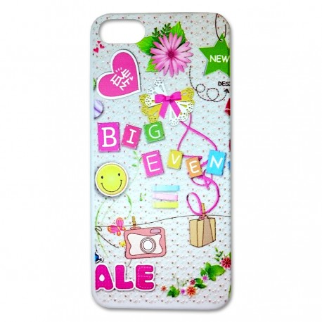 Case New Fashion Spring untuk iPhone 5/5S - Big Event