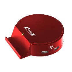OptimuZ ICH-S04 - 4 Port USB Desktop Charger - Merah