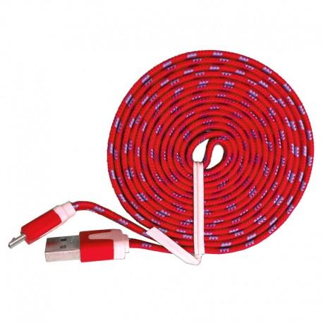 Kabel Micro USB Fabric 3 Meter