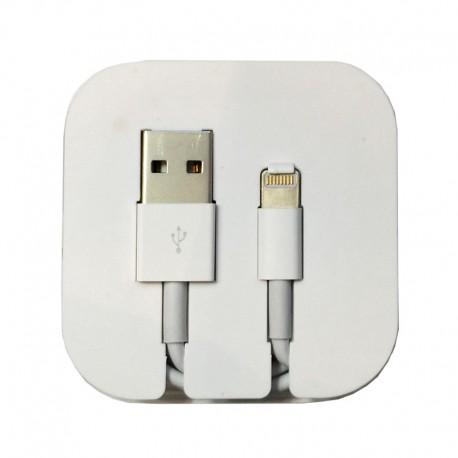 Kabel Lightning 8-pin Kotak – 1 Meter Putih