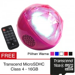 Speaker Color Ball Bluetooth - FREE Micro SD Transcend Class 4 - 16GB