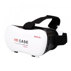 VR Case RK5th 3D Virtual Reality Glasses Case VR Box - White