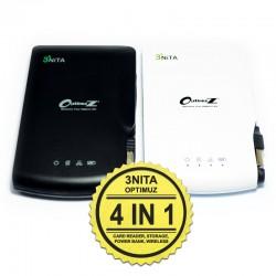 OptimuZ 3Nita - Router Wireless + Power Bank + SD Card + FREE Kabel Micro USB Boneka Karakter