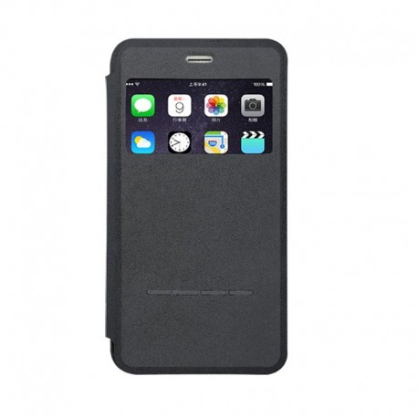 PQI Leather Flip Case Touch-Sensitive 5.5inch for iPhone 6 & 6S Plus