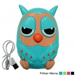 Power Bank Owl / Burung Hantu - 12.000mAh