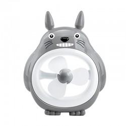 Totoro Mini Fan Portable - Abu-abu