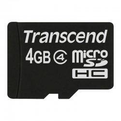 Transcend Memory Card Micro SDHC Class 4 - 4GB Tanpa SD Adapter
