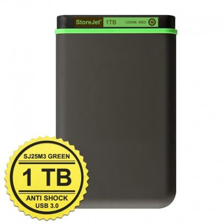 Transcend StoreJet 25M3 - 1TB Dark Gray- Hard Disk Eksternal USB 3.0