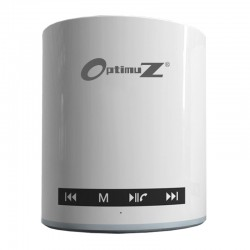 OptimuZ Speaker Bluetooth BW-91 Touchscreen - White