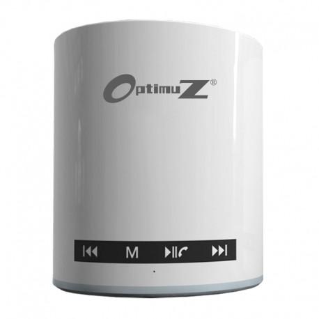 OptimuZ Speaker Bluetooth BW-91 Touchscreen - White