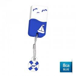 Pqi U605L Flashdisk USB 2.0 Waterproof & Shockproof - 8GB Blue