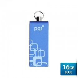 Pqi i813L Flashdisk USB 2.0 COB Technology - 16GB Blue