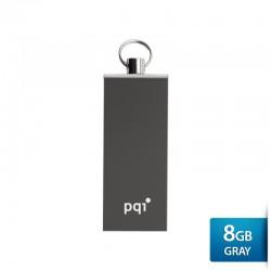 Pqi i813L Flashdisk USB 2.0 COB Technology - 8GB Iron Gray