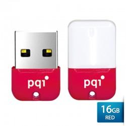Pqi U602L Flashdisk USB 2.0 COB Shockproof & Waterproof - 16GB Red