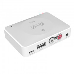 NFC IBT-08 Bluetooth Desktop Home Audio Music Receiver Sound System Speaker - White