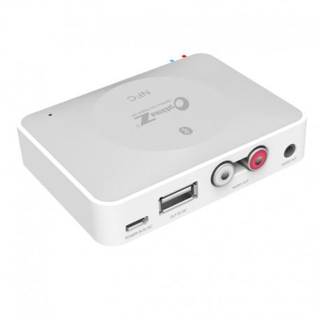 NFC IBT-08 Bluetooth Desktop Home Audio Music Receiver Sound System Speaker - White