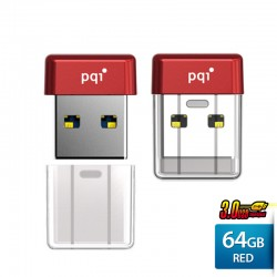Pqi U603V Flashdisk USB 3.0 COB Pen Drive - 64GB Red