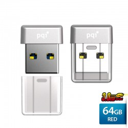 Pqi U603V Flashdisk USB 3.0 COB Pen Drive - 64GB Silver