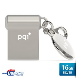 Pqi i-mini II U838V Flashdisk USB 3.0 COB - 16GB Mac Silver