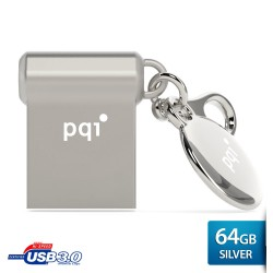 Pqi i-mini II U838V Flashdisk USB 3.0 COB - 64GB Mac Silver