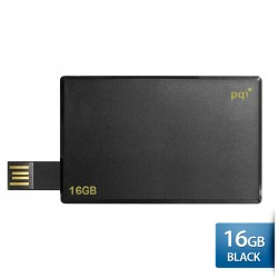 PQI Card Drive i512 Flashdisk Kartu USB 2.0 COB - 16GB Black