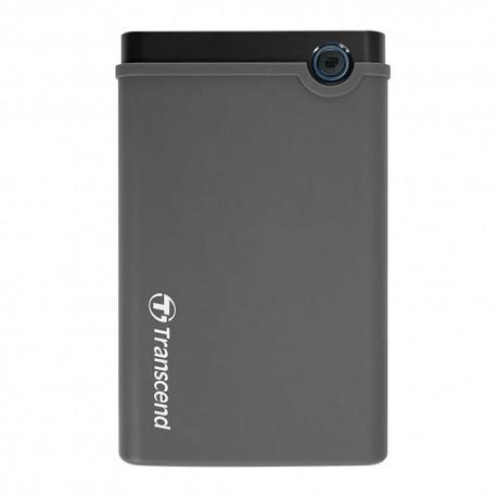 Transcend StoreJet SSD/HDD Upgrade Kit 25CK3 2.5˝ SATA Drive Enclosure Hard Disk External Case - Grey