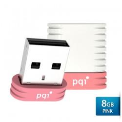 PQI U606L Flashdisk USB Pen Drive - 8GB Pink
