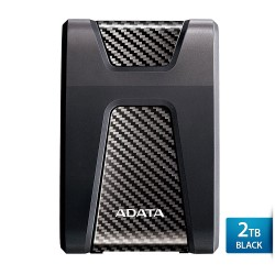 ADATA H650 - 2TB Hitam - Hard Disk Eksternal USB3.0 Anti-Shock