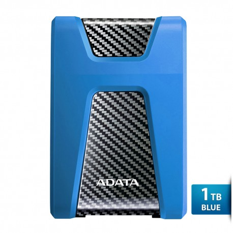 ADATA H650 - 1TB Biru - Hard Disk Eksternal USB3.0 Anti-Shock