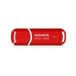 ADATA DashDrives UV150 - Flashdisk USB 3.1 SuperSpeed - 32GB Merah
