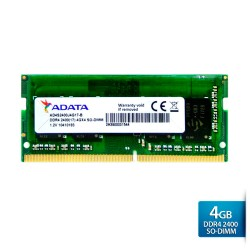 ADATA Premier DDR4 2400 SO-DIMM PC4-19200 Memory - 4GB