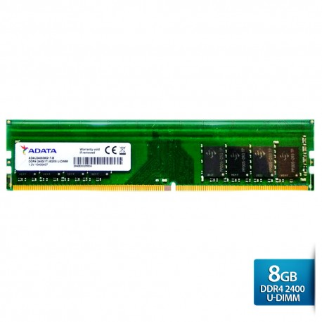 ADATA Premier DDR4 2400 U-DIMM PC4-19200 Memory - 8GB