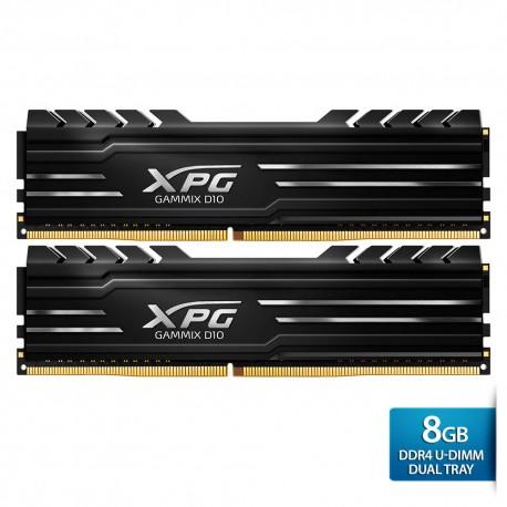 ADATA XPG Gammix D10 DDR4 U-DIMM 2400 Dual Tray - 8GB Hitam
