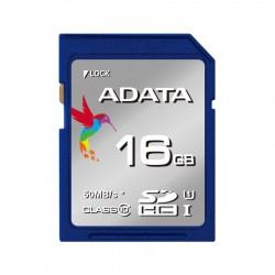 ADATA Premier SDHC UHS-I Class10 50MB/s Memory Card - 16GB