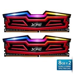 ADATA XPG Spectrix D40 DDR4 U-DIMM 3000 Dual Tray – 8GBx2