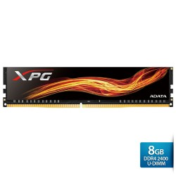 ADATA XPG DDR4 OC U-DIMM 2400 PC4-19200 Single Tray - 8GB Hitam