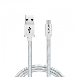 ADATA Kabel Data & Charge Micro USB Aluminium 100cm - Silver