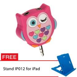 PROMO! My Doodles Splitter Owl FREE Stand IP012 untuk iPad