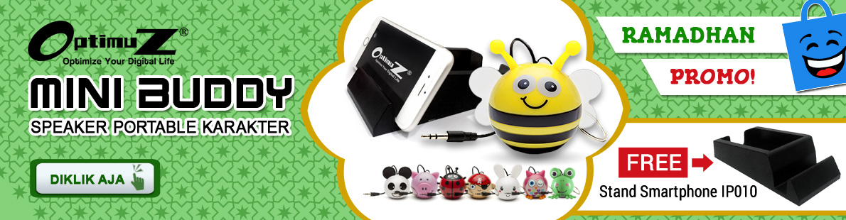 Ramadhan Sale DiKlikAja OptimuZ Mini Buddy Speaker Karakter