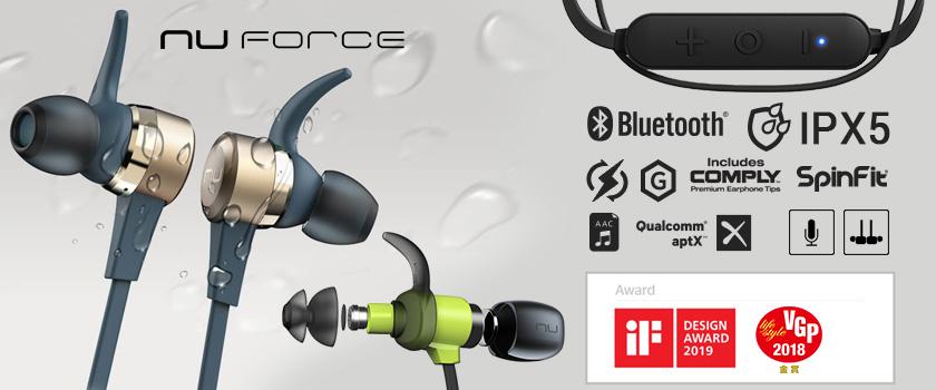 Fitur Spesifikasi Nuforce Earphone Headset BE Live 2, BE Live 5, dan BE Sport 4