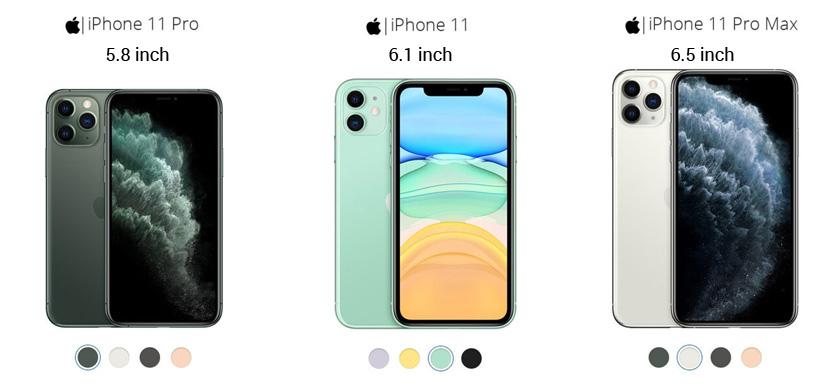 Apple iPhone 11 Series Pro dan Max