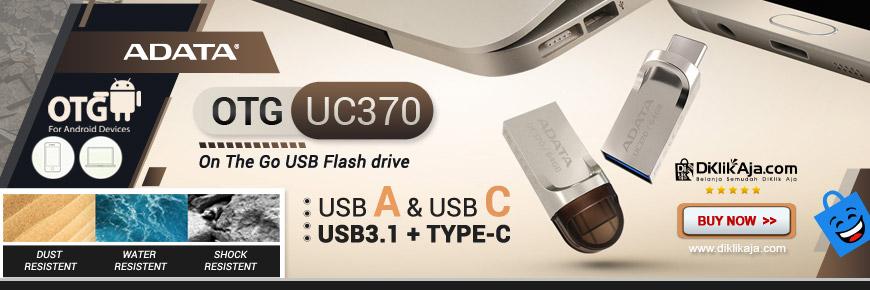 ADATA UC370 - Flashdisk OTG USB Tipe-C dan USB 3.1