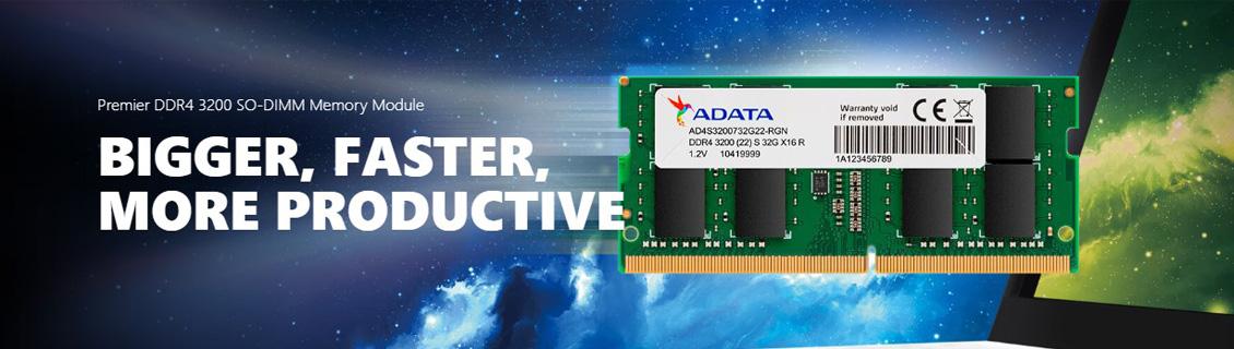ADATA Premier DDR4 3200MHz SO-DIMM RAM untuk Laptop