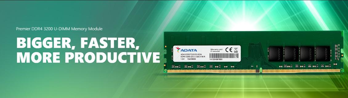 ADATA Premier DDR4 3200 U-DIMM RAM PC Desktop