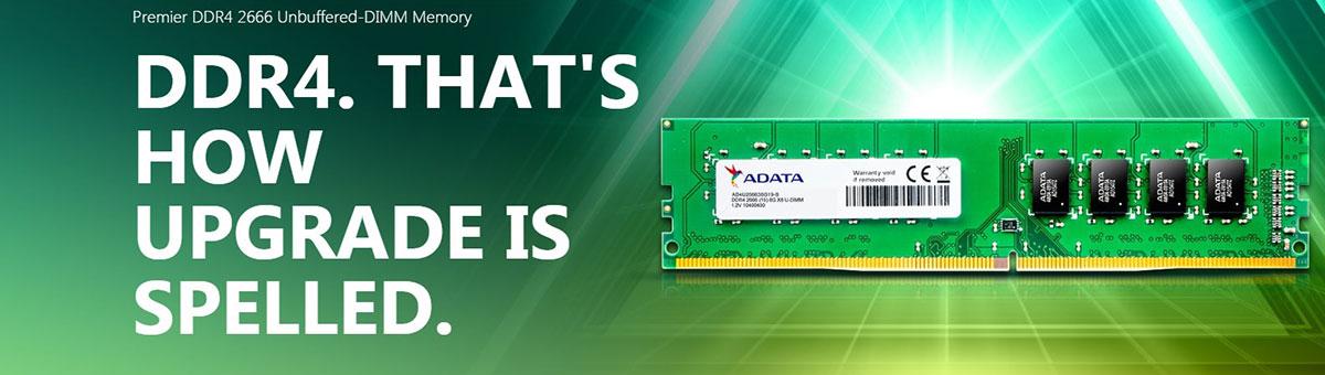 ADATA DDR 2666 U-DIMM Fitur Deskripsi